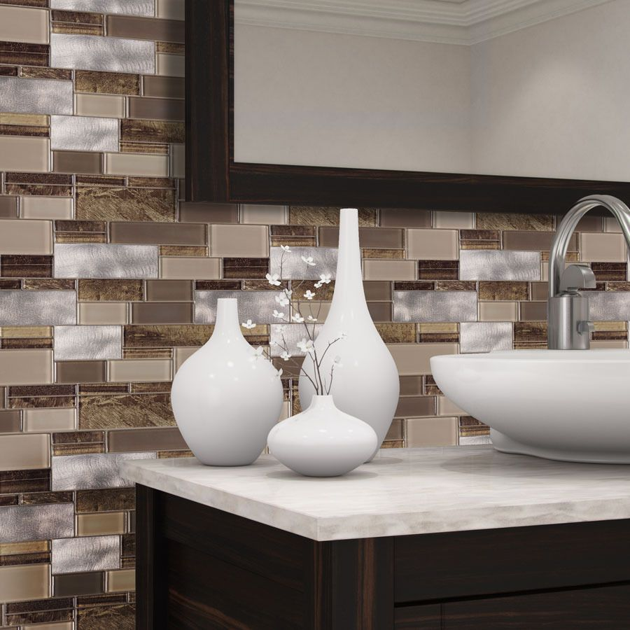 Access Denied Stone Mosaic Tile Metallic Wall Tiles Mosaic Wall Tiles