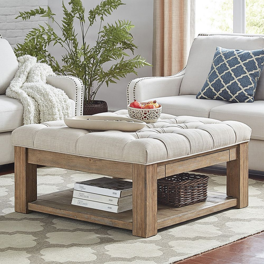 20+ Tufted coffee table with storage ideas in 2021