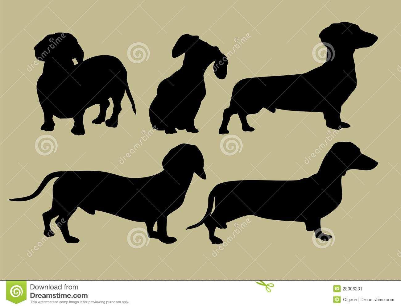 Resultado de imagen para perro salchicha para pintar | trufa | Pinterest
