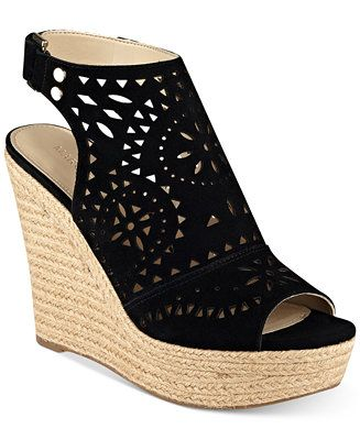 370b62667da Marc Fisher Harlea Platform Wedge Sandals - Wedges - Shoes - Macy s ...