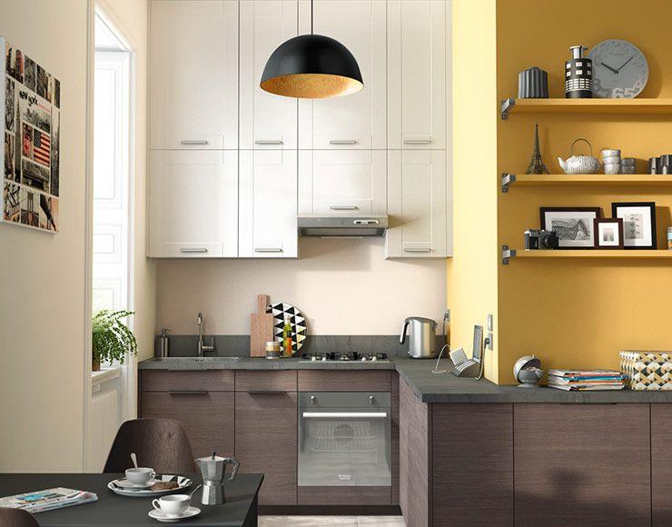 Castorama Unik Chêne Fumé Cuisines Kitchen Small Apartments Et