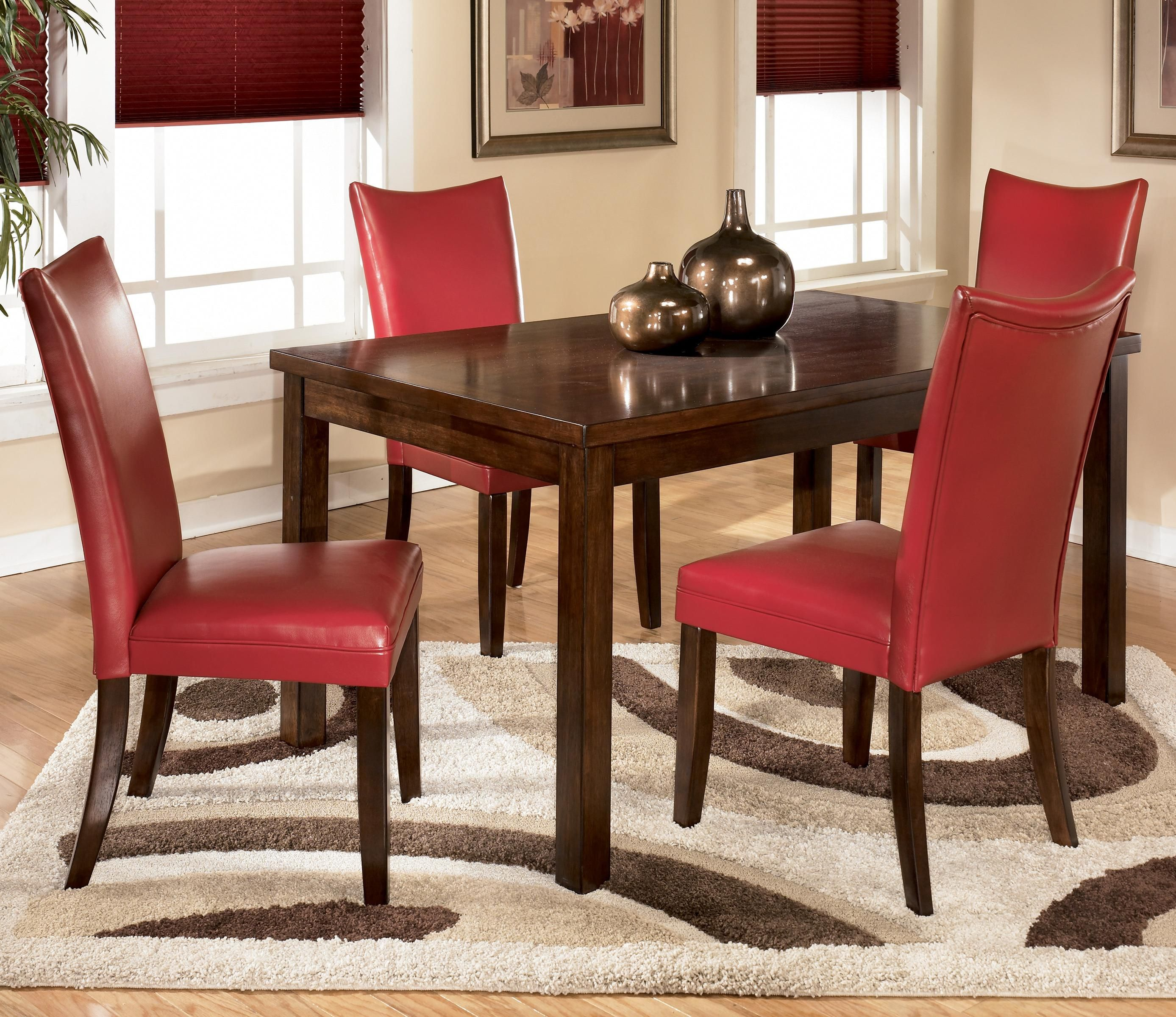 Charrell 5 Piece Rectangular Dining Set By Ashley