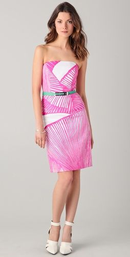 Lovely Milly wiggle dress- so summery, like a G&T