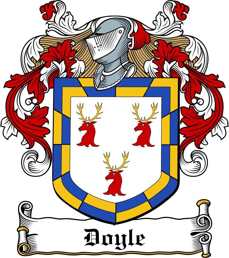 Doyle Crest Irish Family