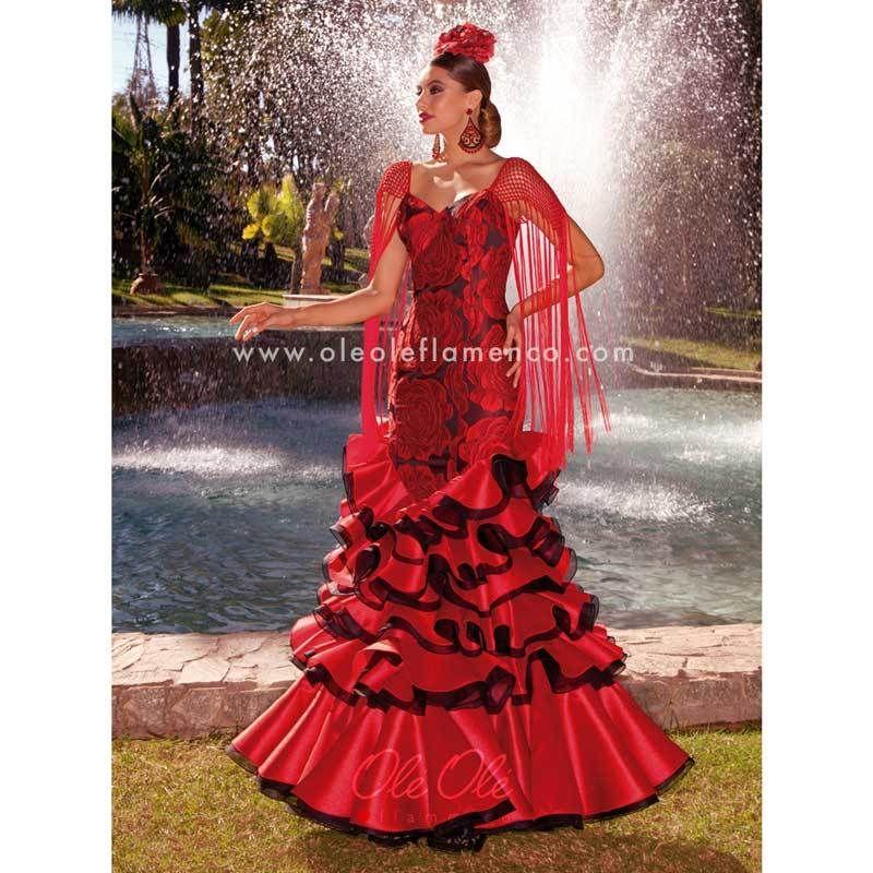 af1c60542621 Flamenco Sevillana Gema Gown Dress in 2019   clothes   Fashion ...