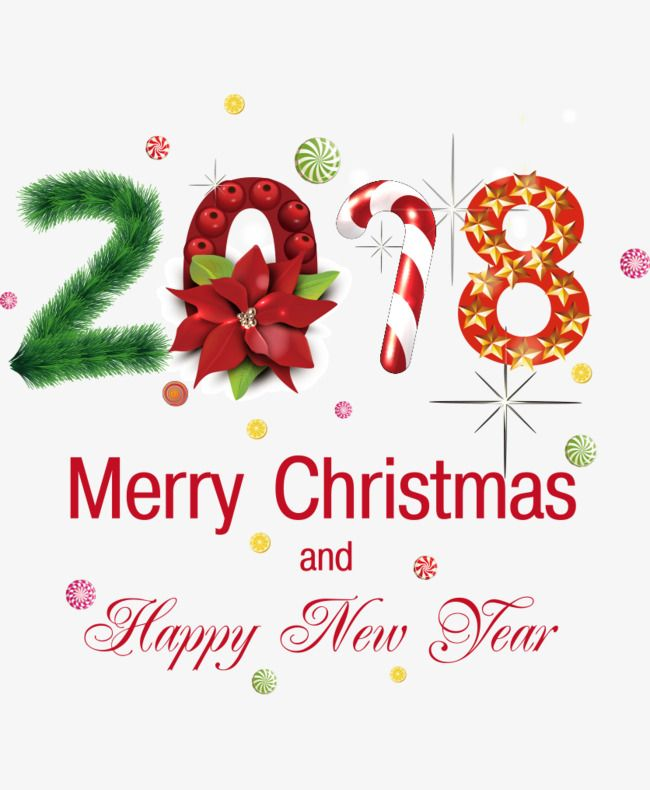 Christmas, Chinese New Year, Happy New Year PNG and Vector ...
