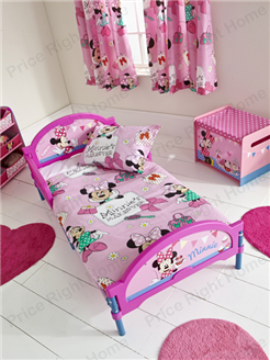 Minnie Mouse Cosytime Toddler Bed - Three mattress options available plus free UK next day delivery.