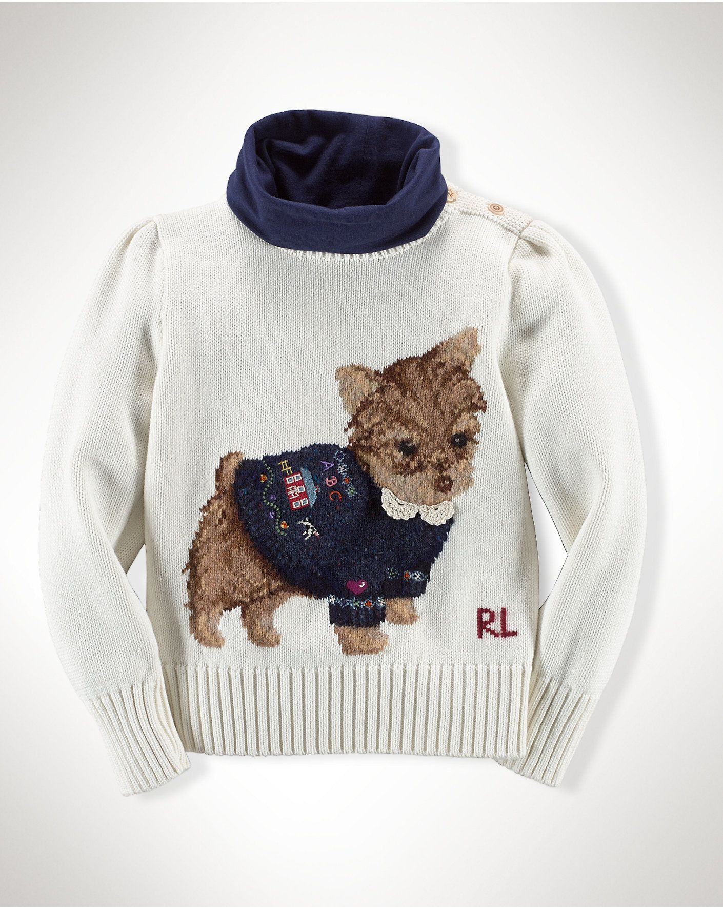 Sweet Dog Sweater At Ralph Lauren Trend What Is On Sale Today