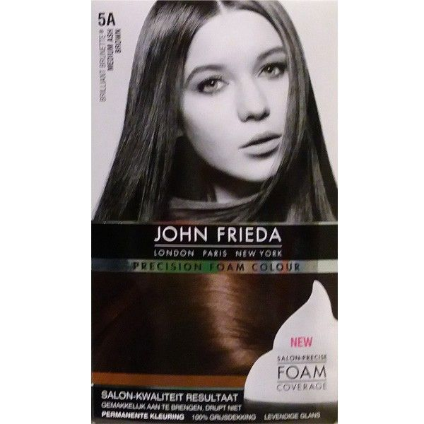 John Frieda Precision Foam Colour Brilliant Brunette 5a Medium Ash
