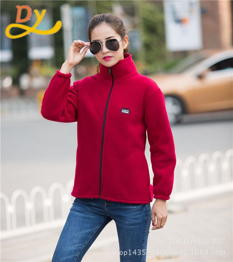 5e15e2ecc38b1 Click to Buy    2017 High Quality Womens Thermal Jaqueta Feminina  Windbreaker Leisure