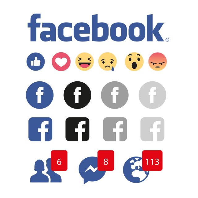 Facebook Icons, Facebook Reactions, Facebook PNG and