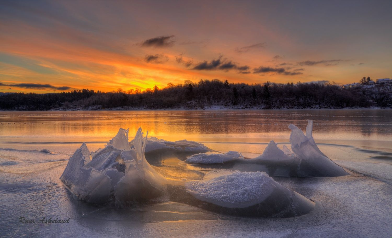 Ice art by Rune Askeland