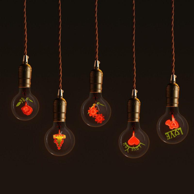 G80 E27 Vintage Edison Lamp 220v