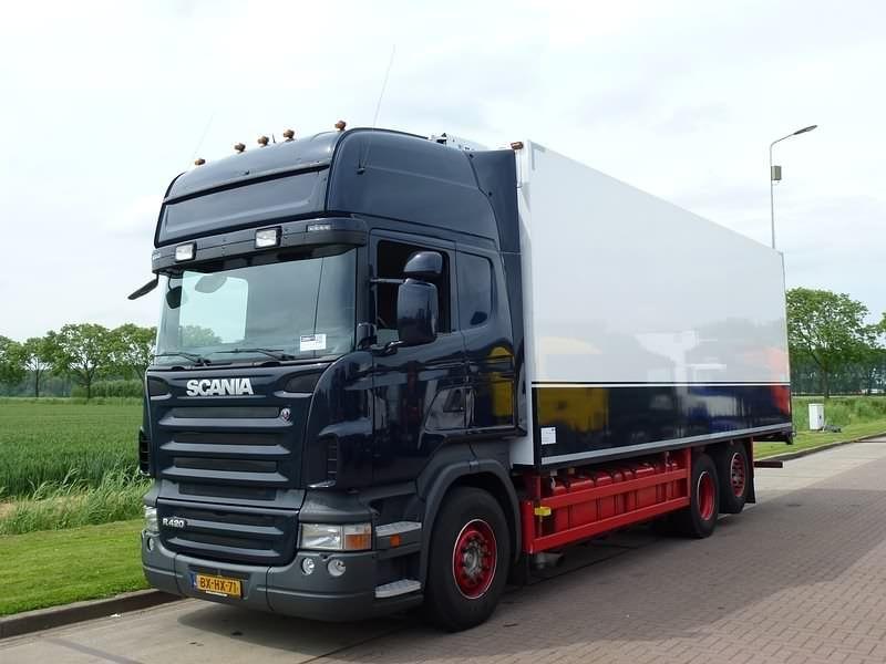 En venta: Usado - Camión SCANIA Caja frigorífica R 420 TOPLINE EURO 5