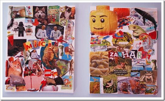Kids Art: Magazine Collages and gift | Magazine collage, Art for kids