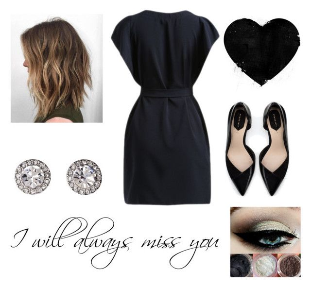 """thinking of you always"" by jen144953-1 ❤ liked on Polyvore featuring Zara and OroClone"