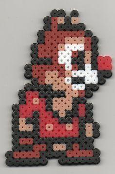 CHIP & DALE Perler Bead Patterns | Dale Disney by ~Cristiaso