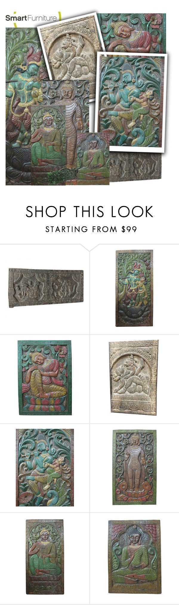 Antique Wall Sculpture by baydeals on Polyvore featuring interior, interiors, interior design, home, home decor, interior decorating, homedecor, wallart, wallhanging and wallpanel  http://stores.ebay.com/mogulgallery/CARVED-DOORS-/_i.html?_fsub=353415319&_sid=3781319&_trksid=p4634.c0.m322