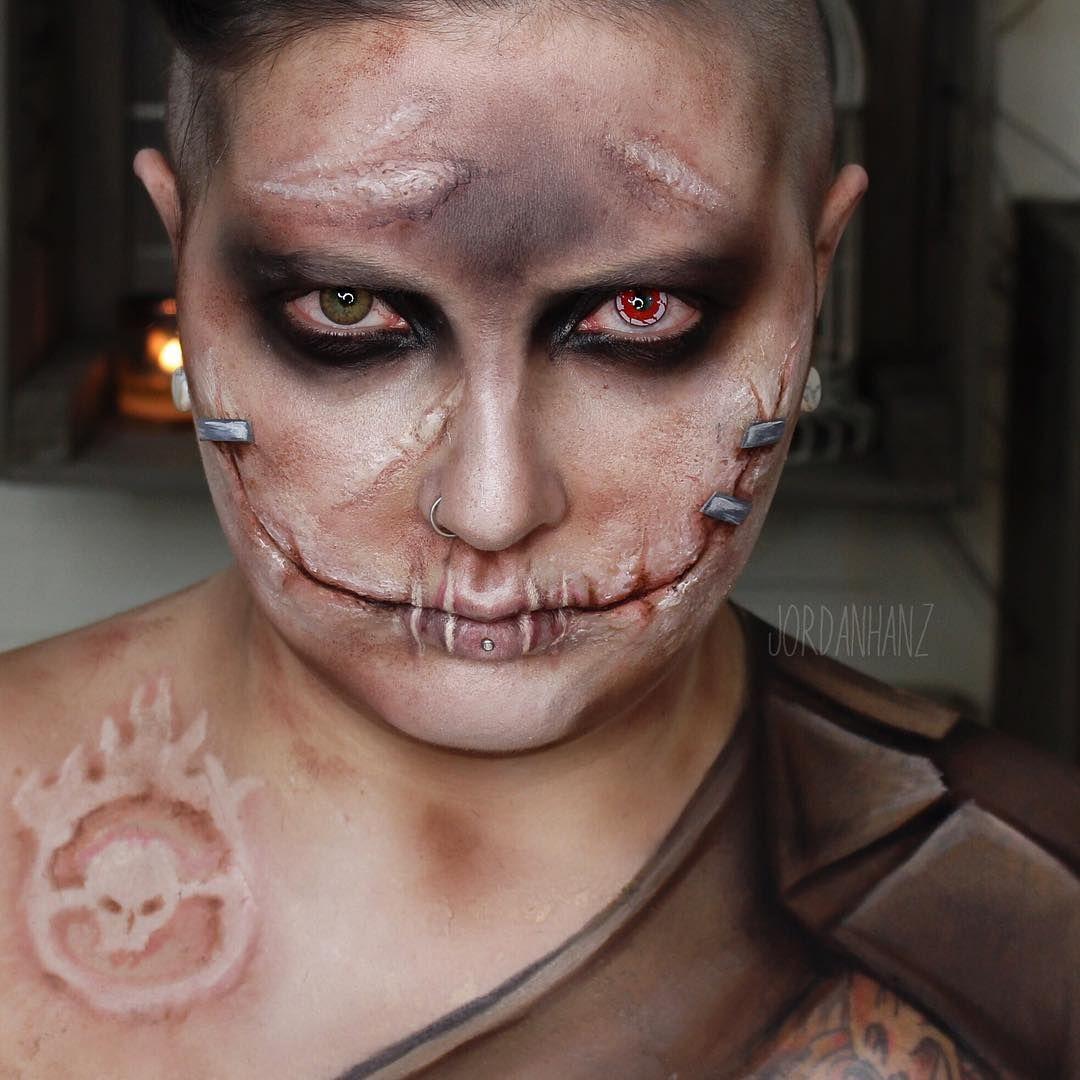Jordan Hanz MAD MAX War Boy Amazing halloween makeup