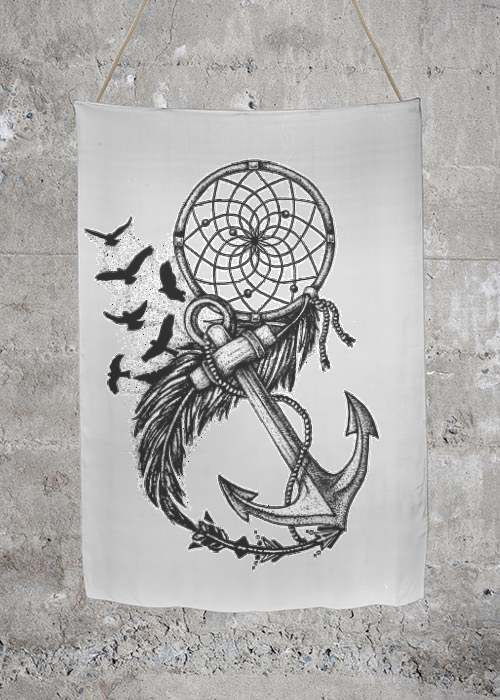 Dreamcatcher and anchor