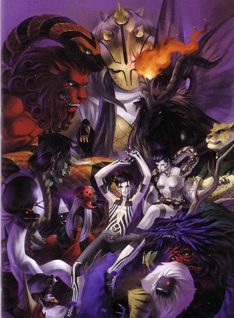 Shin Megami Tensei - Nocturne | 転生, イラスト, 視覚芸術