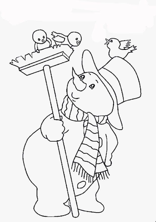 window color malvorlagen  snowman coloring pages