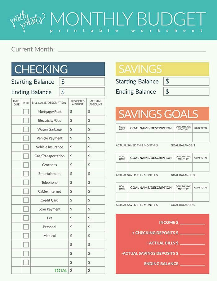 Paying off Debt Worksheets Debt, Budgeting and Organizing