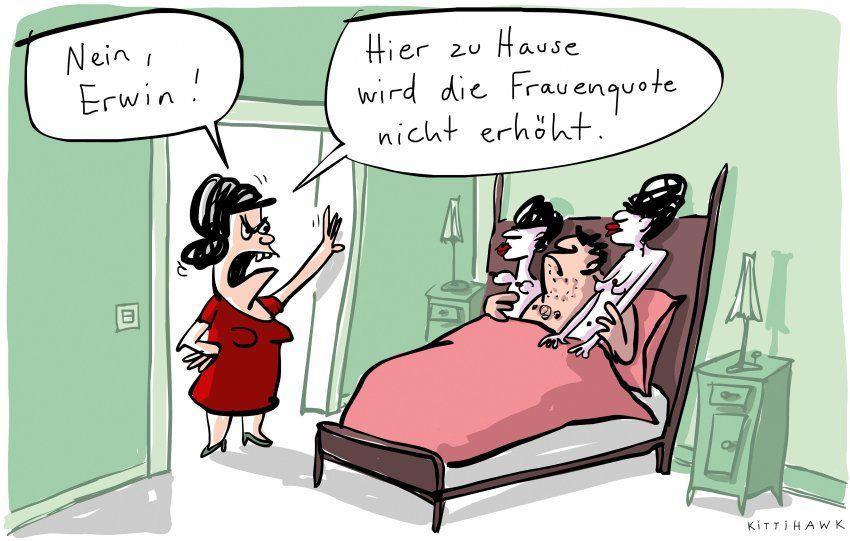 Spam Cartoons Frauen Hort Die Signale Der Spiegel Panorama