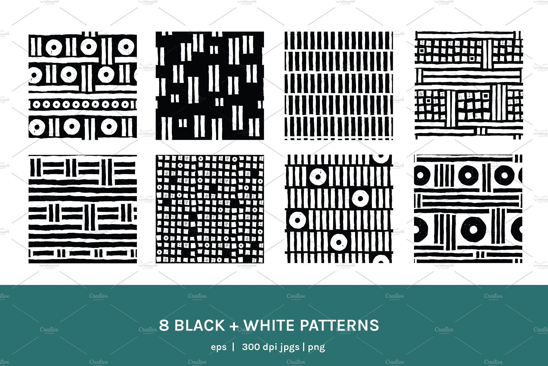 Geometric Rhythm Boards Patterns Includes Details Illustrator