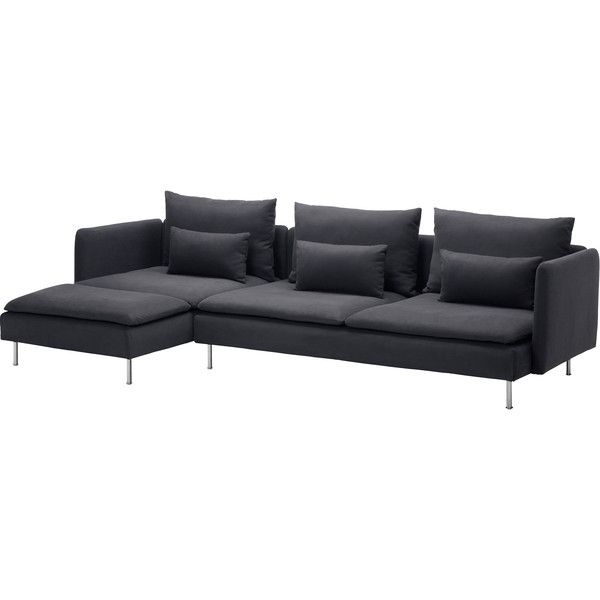 Soderhamn 799 Liked On Polyvore Featuring Sofa Couch Ikea