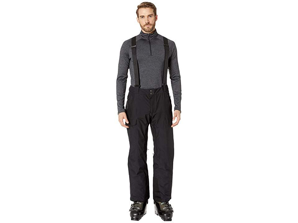 Spyder Sentinel Regular Pants BlackBlack Mens Outerwear Combine this Spyder Sentinel Regular Pants with a Spyder snow jacket and youll be out on the slopes all day long G...
