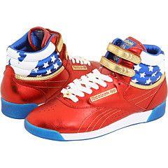 d919a5b7c36 Reebok - WonderWoman one of my fav sneakers Reebok Freestyle