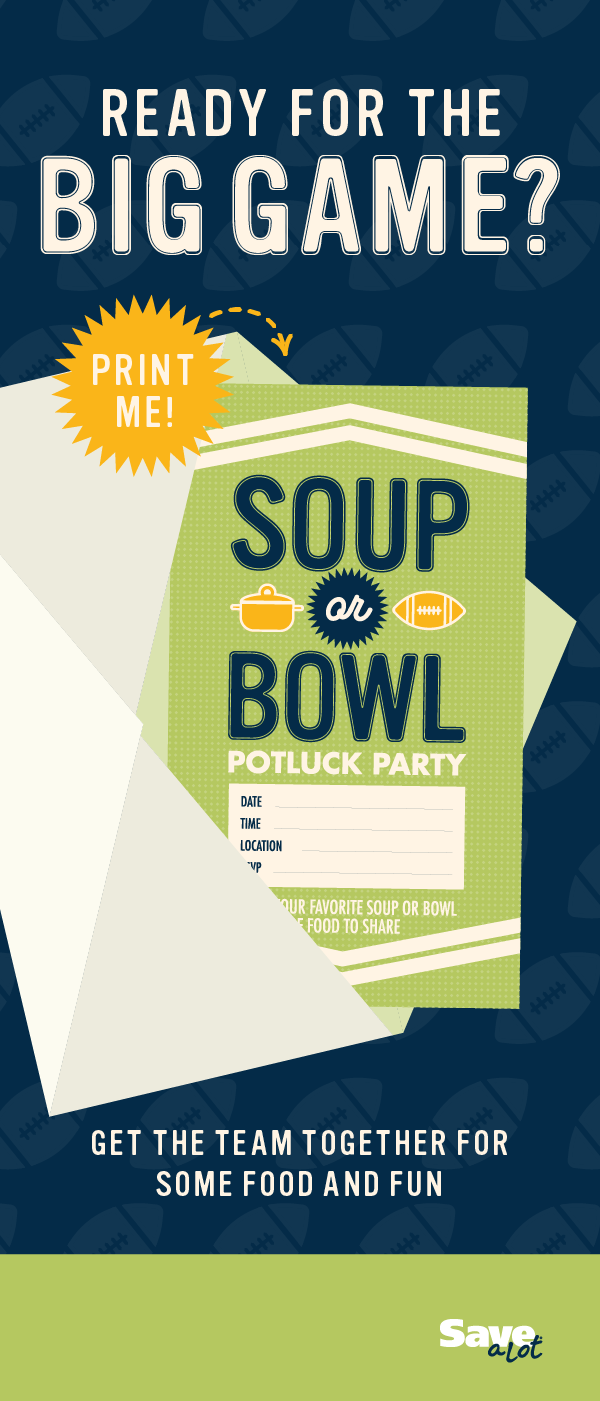 FREE Super Bowl Printable | Game Day Party Invite | FREE Watch ...