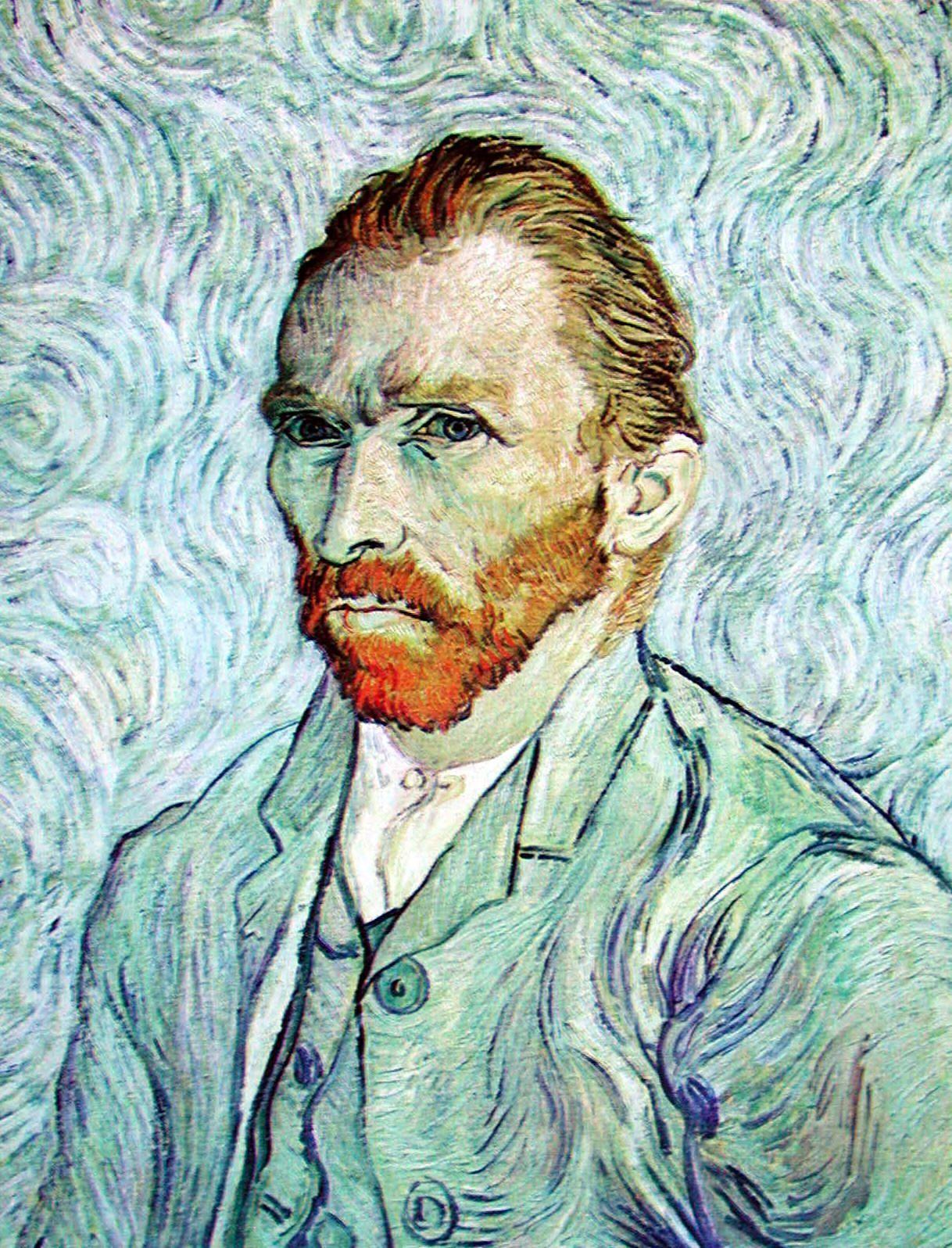 9c9598f9338a3 Título  Autorretrato. Autor  Vincent Van Gogh Técnica  Óleo sobre lienzo  Dimensiones  Alt. 65 cm  Anch. 54