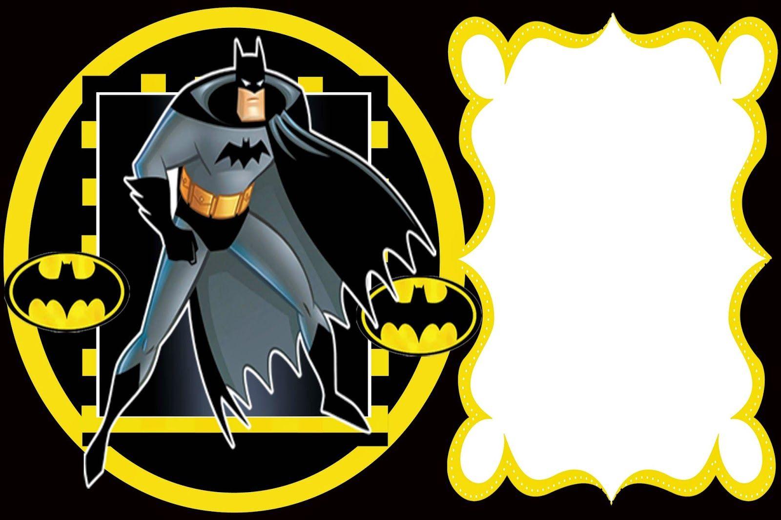 Pin De Fabiola Figo En Panza Invitaciones De Batman
