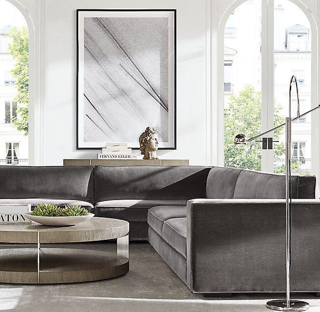 Verrazano Round Coffee Table Home Decor Black Living Room Furniture Design Wooden