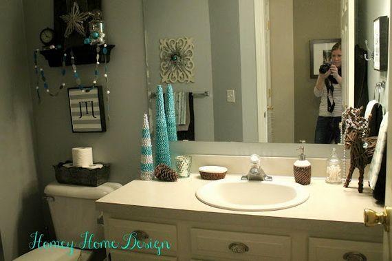 Small Bathroom Decorating Ideas: Cute Bathroom Decorating Ideas For Christmas