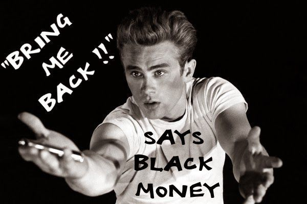 Blogsters: The simple step of finding White money! Black is a...