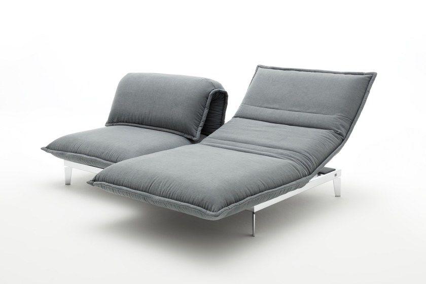 Chaise Longue En Tissu NOVA