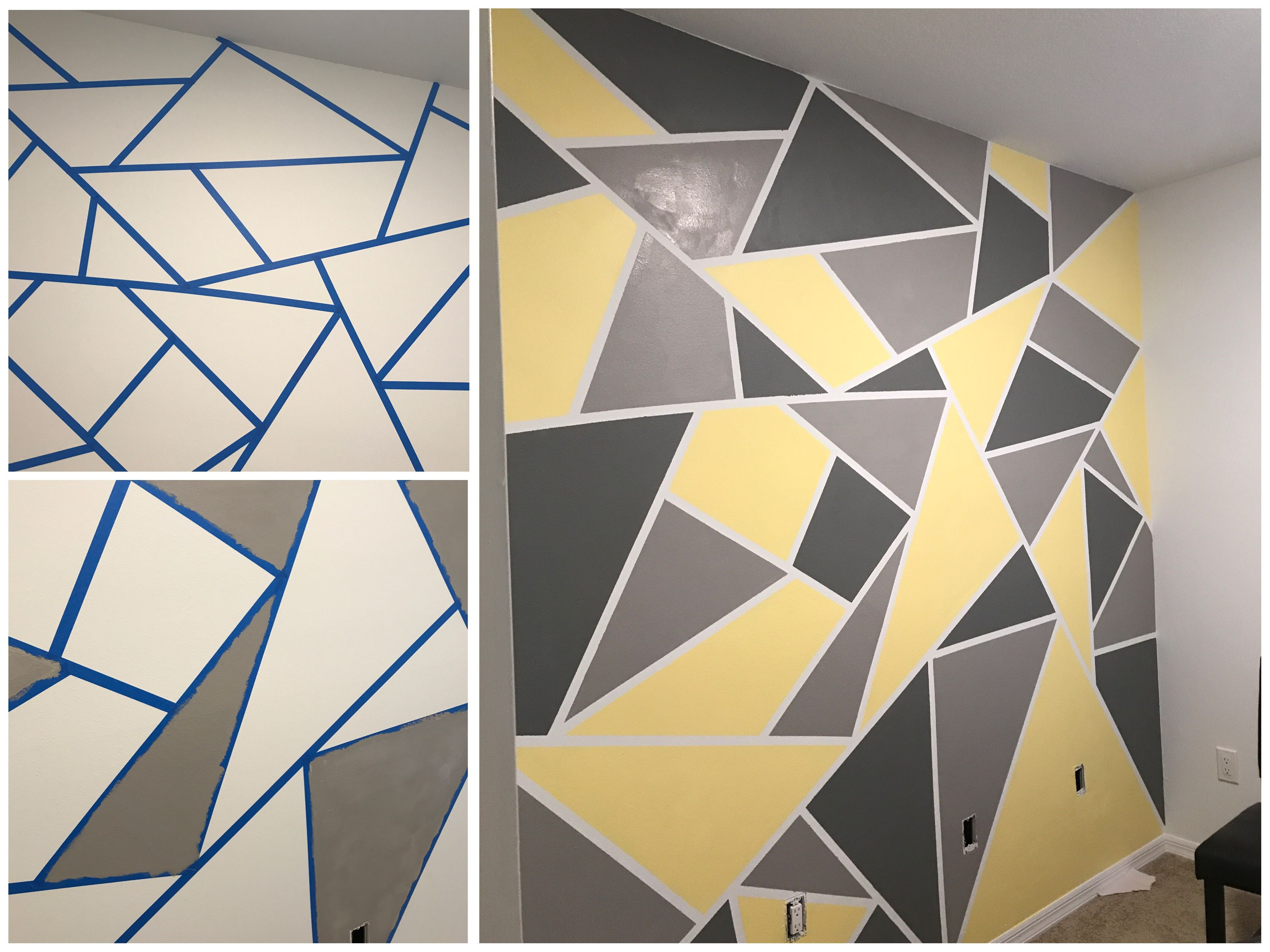 Paint Colors In 2020 Bedroom Wall Paint Tape Wall Art