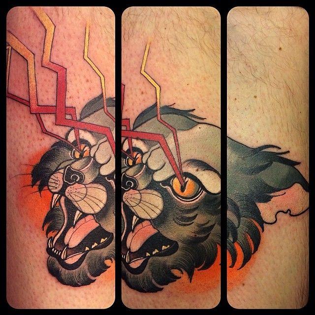Tattoo by Kari Grat