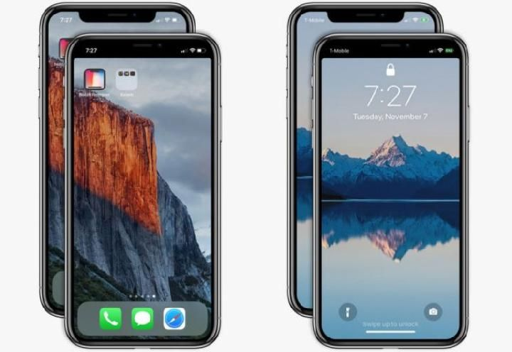 Notch Remover, Dent Remover on iPhone X Screen