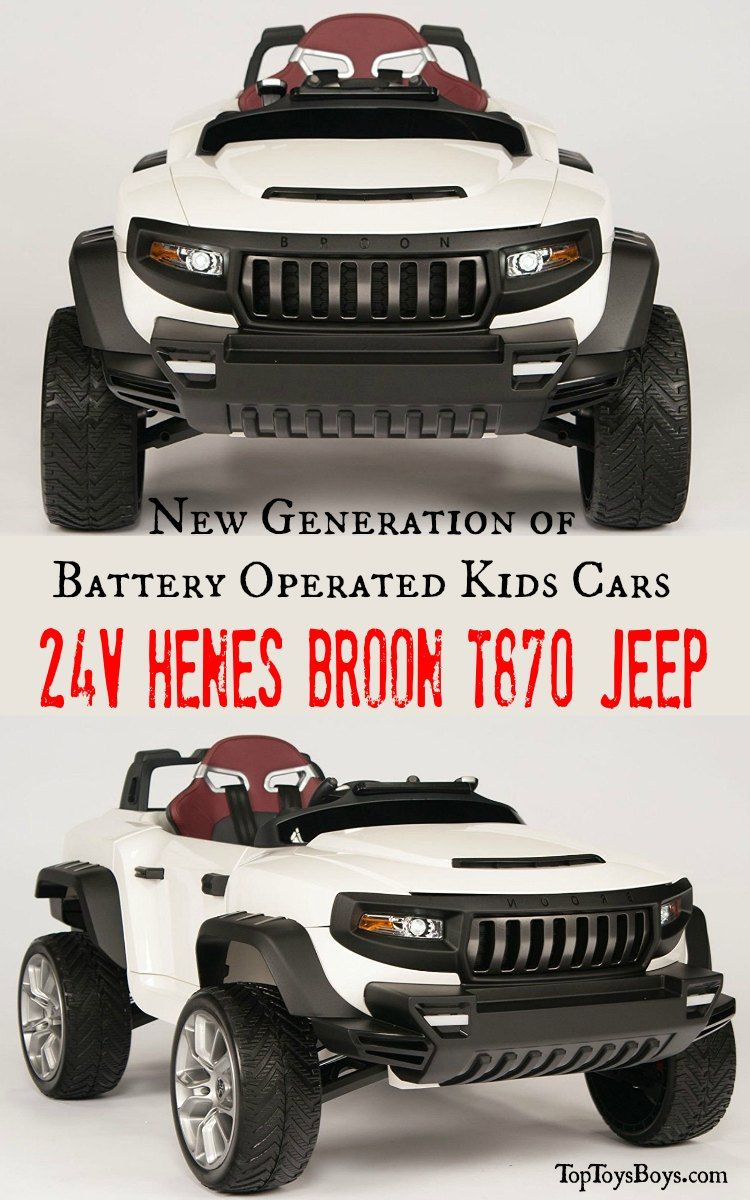 Henes Broon Electric Cars Jeep Luxury Ride On Cars For Kids Ride On Toys Kids Ride On Toy Car