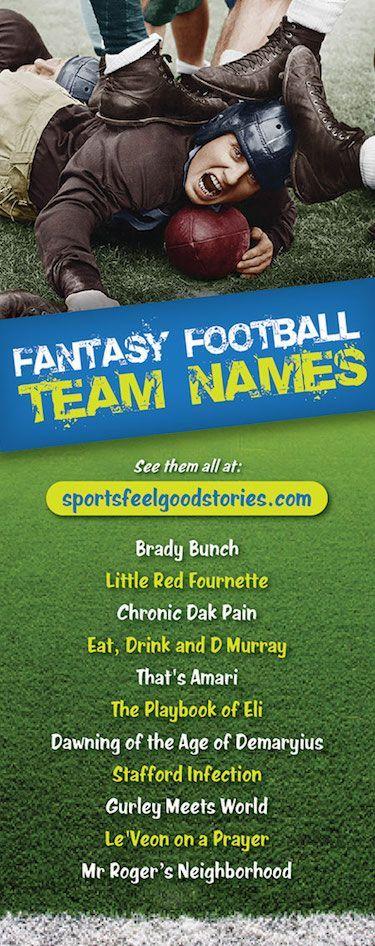 a55ebb5f Fantasy Football Team Names 2019 | Fantasy Football Team Names ...
