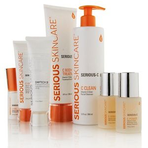 Serious Skincare The Power Of C Kit With Enhanced C Esters At Hsn Com The Best Skincare I Have Found For My Over 4 Beauty Favorites Skin Care Shampoo Bottle