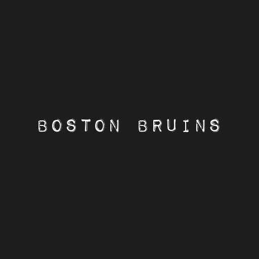 Boston Bruins title page