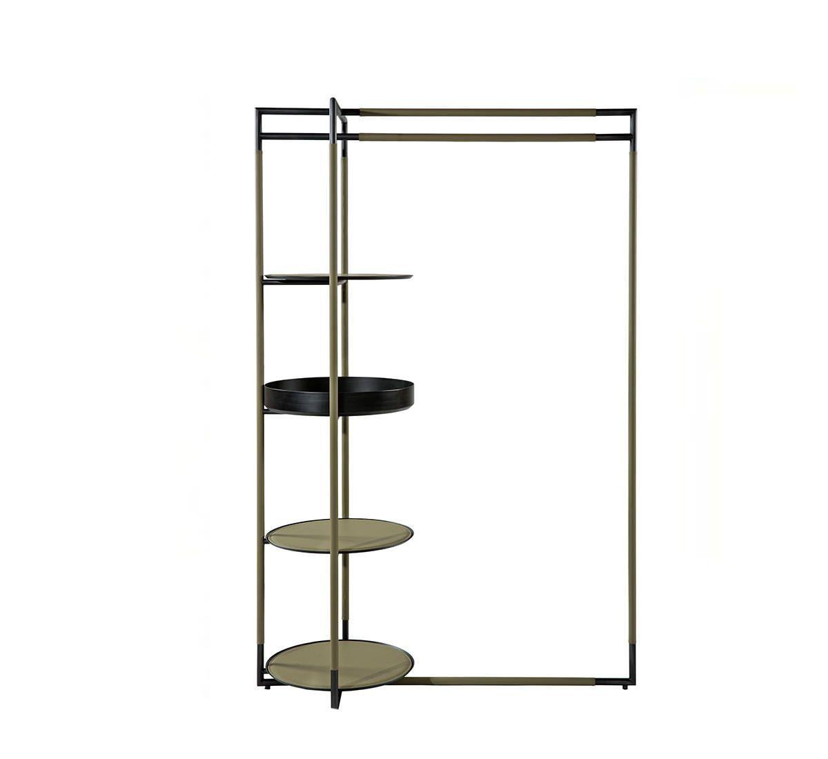 steh herrendiener modern aus stahl holz bak by ferruccio laviani frag in the closet. Black Bedroom Furniture Sets. Home Design Ideas