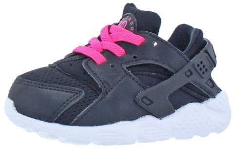 c268f6faf5812 Girls Huarache Run Toddler Low-Top Running Shoes  Retail Blast Pink ...