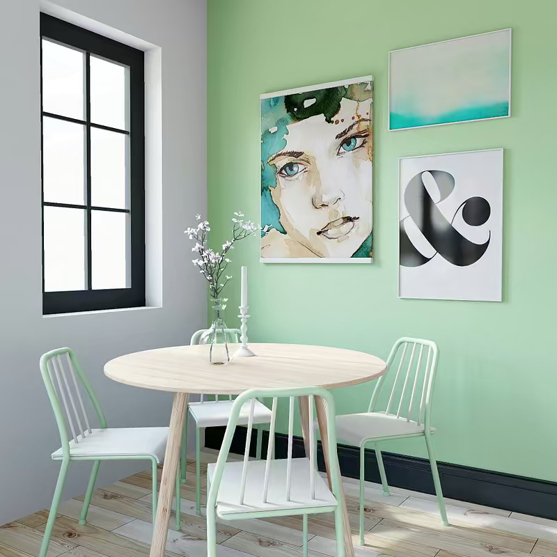 Mint Green Dining Green Dining Room Dining Room Decor Redecorating