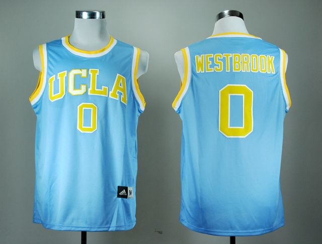 buy online 842c4 d2beb NCAA UCLA Bruins #0 Russell Westbrook Blue Jersey | cheap ...